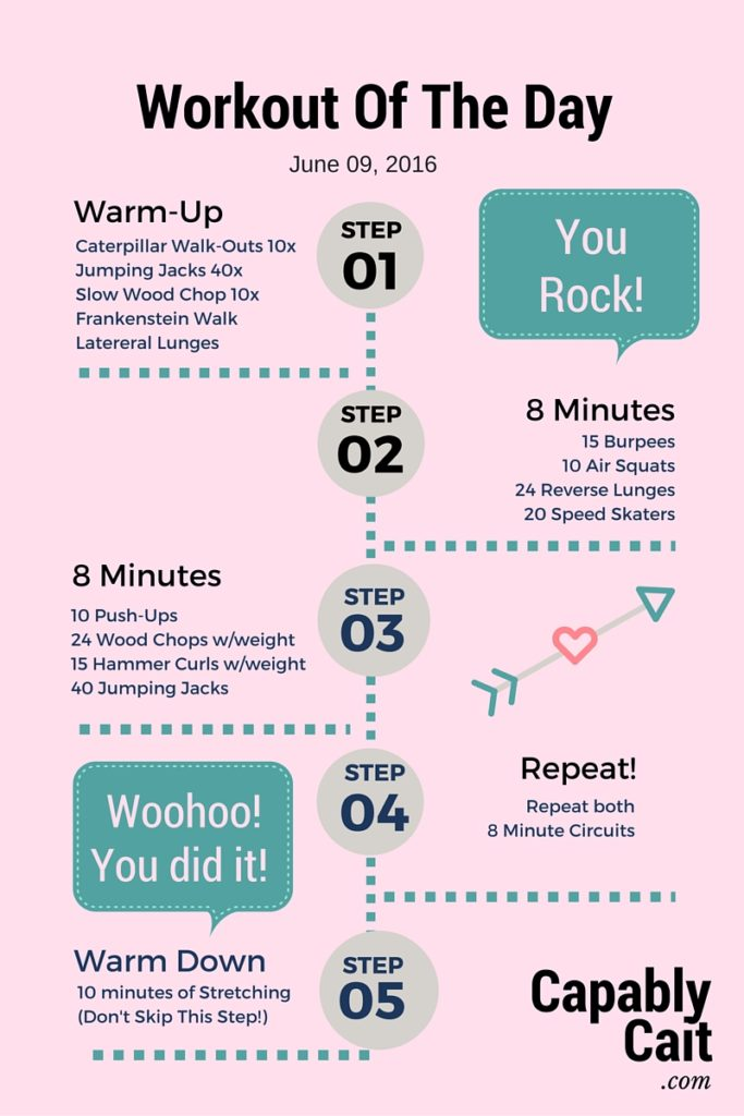 Workout Of The Day-2